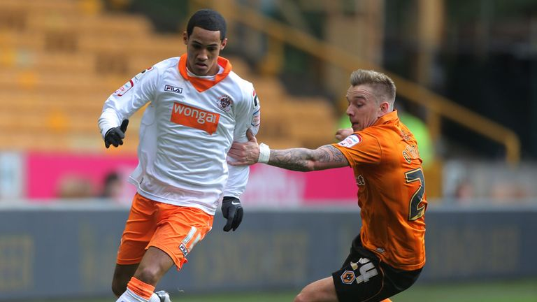 Tom Ince: Reading have made a bid for Blackpool winger