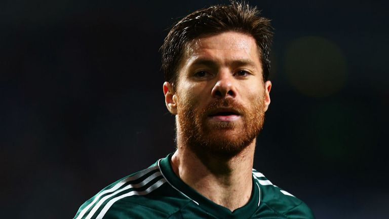 Xabi Alonso: Sidelined for three months with broken metatarsal