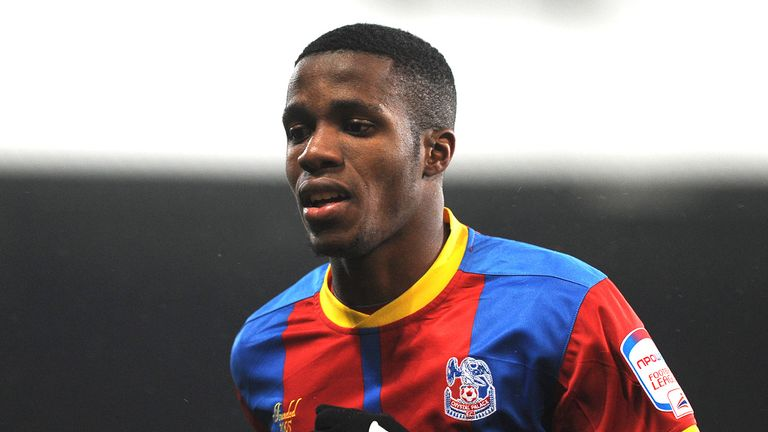 Wilfried Zaha: In trouble over gesture to Leeds fans