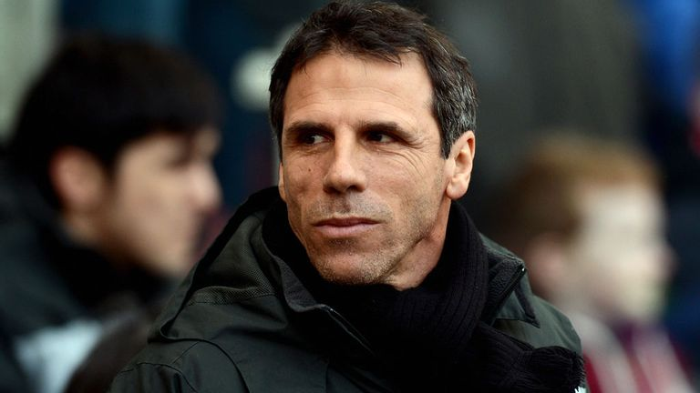 Gianfranco Zola: Praised Watford striker Matej Vydra following his brace in Saturday's 3-0 win over Nottingham Forest