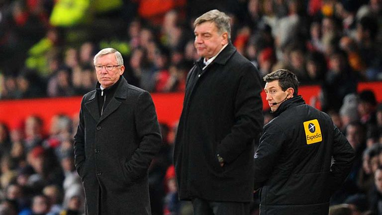 Sam Allardyce: West Ham boss has saluted Sir Alex Ferguson