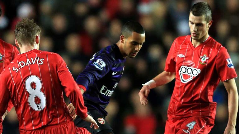 Walcott: Couldn't find a way through