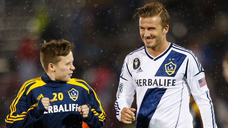 Brooklyn Beckham: Eldest son of David has signed for Chelsea's academy.