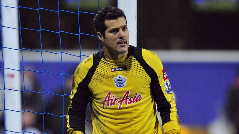 Julio Cesar: Expected to head out of Loftus Road this summer