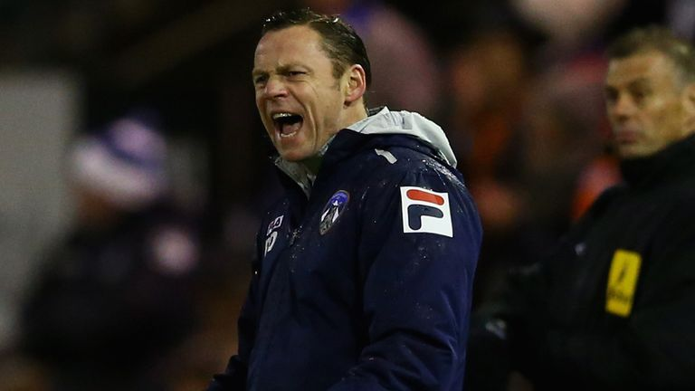 Paul Dickov: Struggling to get results in League One