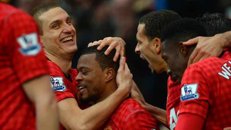 Patrice Evra: Looking for Manchester United to turn on the style against Stoke