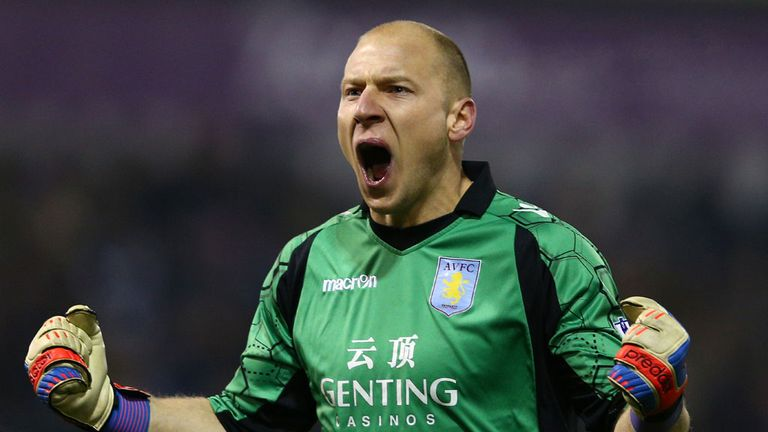 Brad Guzan: Determined to do all he can to stay up at Aston Villa