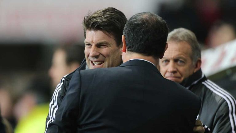 Michael Laudrup: Swansea boss all smiles after seeing off Chelsea