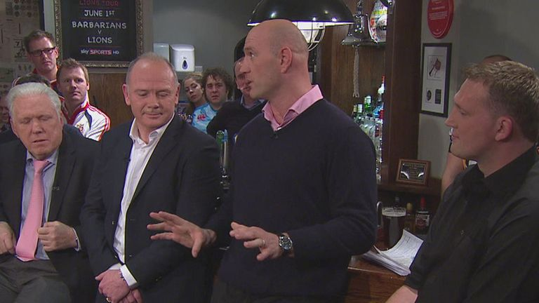 Lawrence Dallaglio: Thinks the Lions can clinch series in Melbourne