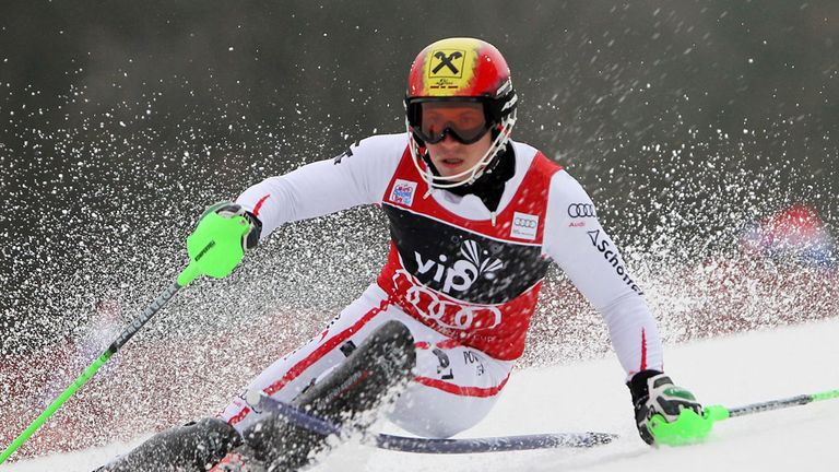 Marcel Hirscher: Set a record with his ninth successive podium