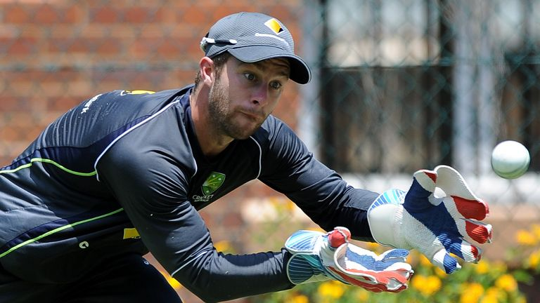 Matthew Wade: Wants convincing win against Scotland on Tuesday