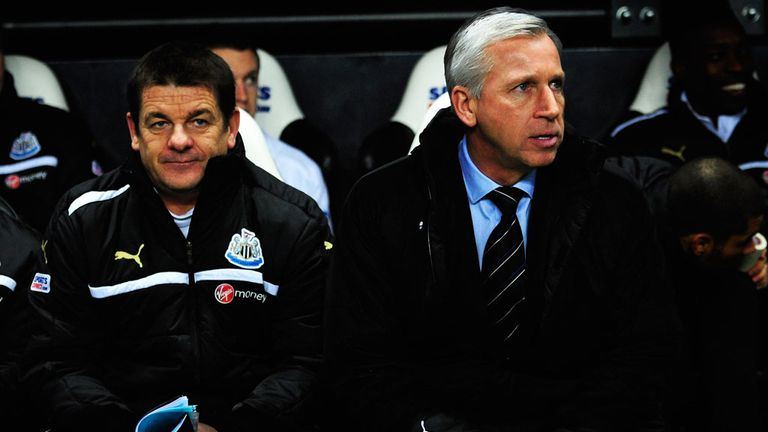 Alan Pardew: Needs to find a new frontman following sale of Demba Ba