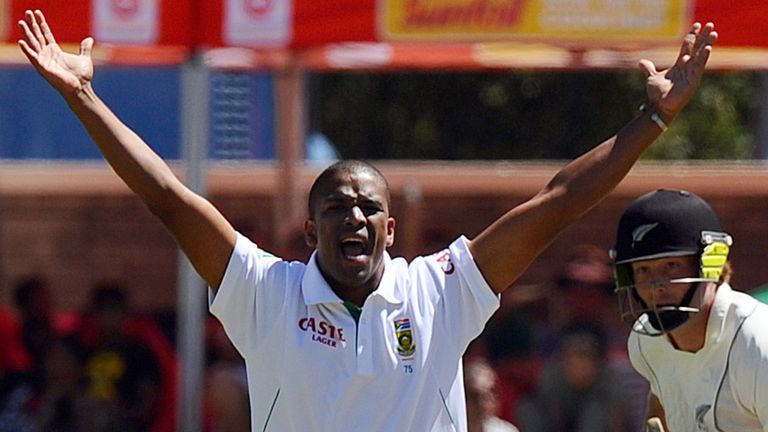 Vernon Philander: Will rest his hamstring while South Africa face New Zealand in Port Elizabeth