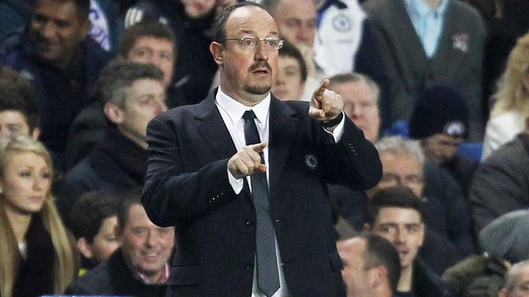 Rafa Benitez: Says Chelsea are evolving after a number of changes to the playing squad