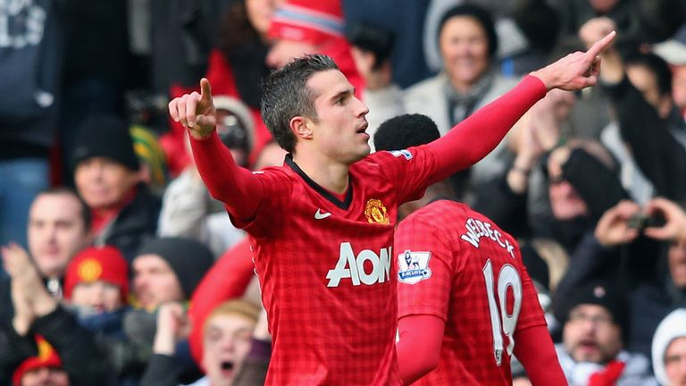 Robin van Persie: More to United than striker according to Sir Alex Ferguson