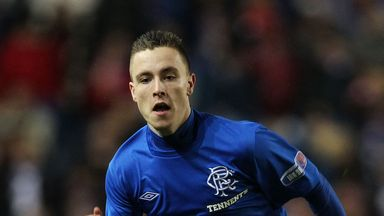 Barrie McKay: Rangers winger set to miss rest of season