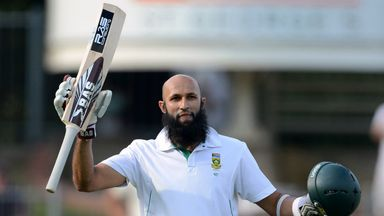 Hashim Amla: Cashed in on reprieve to pass three figures