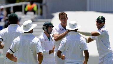 South Africa: dominant display at Newlands
