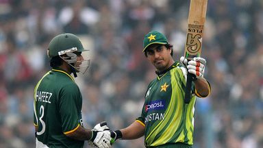 Nasir Jamshed: Third successive ODI century against India