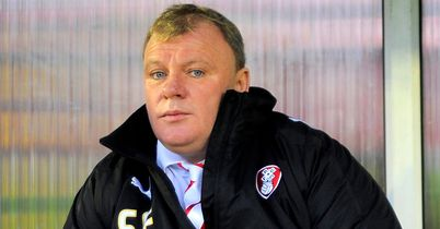 Steve Evans: Set to take Rotherham into League One