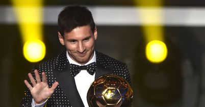 Messi: Claimed another Ballon D'Or