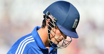 Alastair Cook: Went for 17 as England struggled again