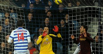 Julio Cesar: In imperious form at Loftus Road