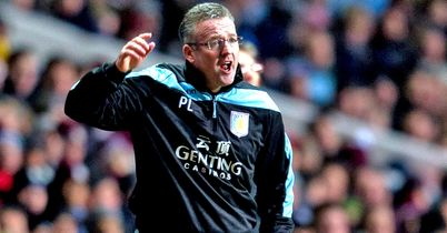 Paul Lambert: Was left deflated after his Villa side drew at West Brom
