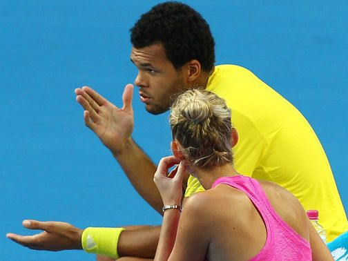 Jo-Wilfried Tsonga: Suffered hamstring injury
