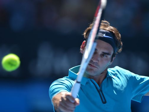 Federer: No alarms in first-round win