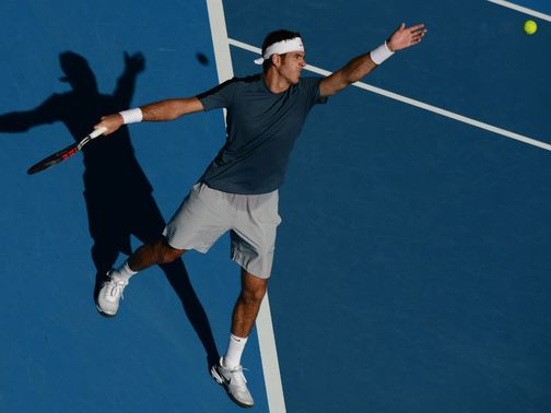 Juan Martin del Potro: Dropped just five games