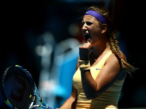 Victoria Azarenka: Overcame a slow start to advance