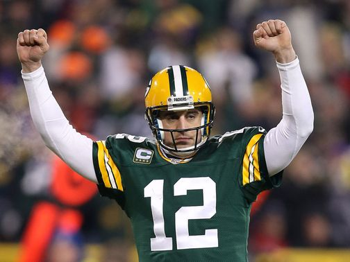 Aaron Rodgers: Plenty to celebrate against the Vikings