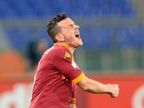 Alessandro Florenzi scored for Roma