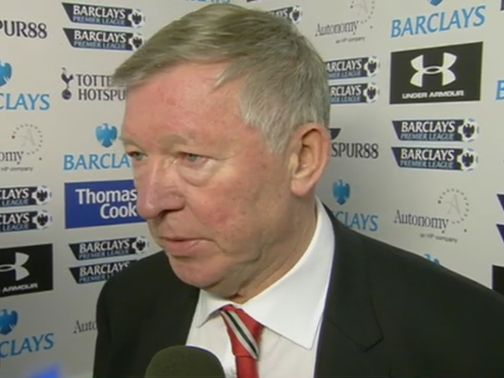 Sir Alex Ferguson: Branded Beck's performance as 'shocking'