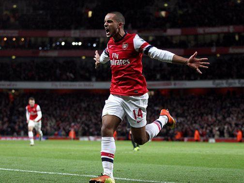 Walcott: Wants to make an impact with England