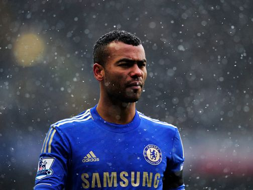 Ashley Cole: Poised to win 100th cap next week