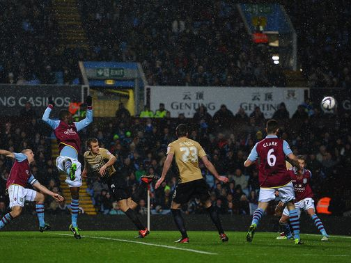 James Hanson scores Bradford&#39;s equaliser on the night
