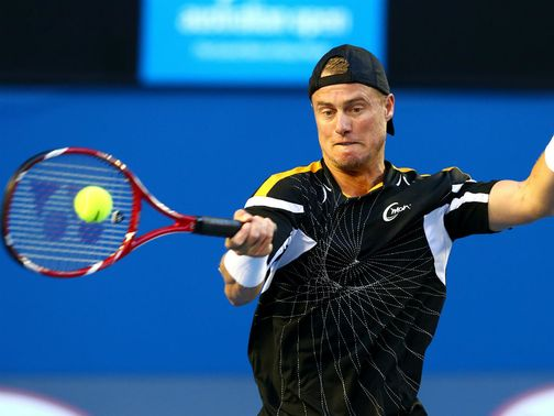 Hewitt: Battled to victory