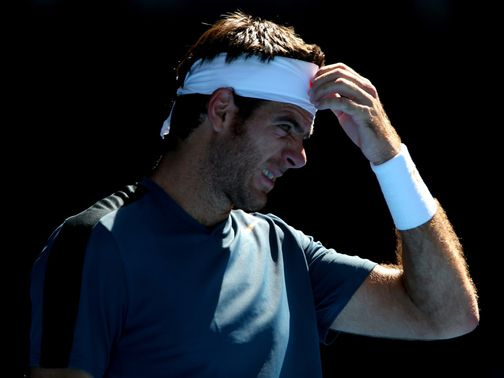 Juan Martin del Potro: Easy win