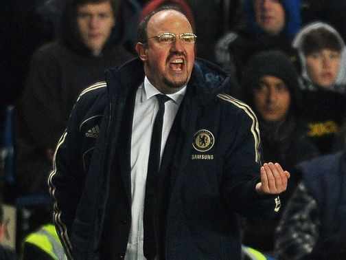 Rafael Benitez: Unhappy with 'liar' Materazzi