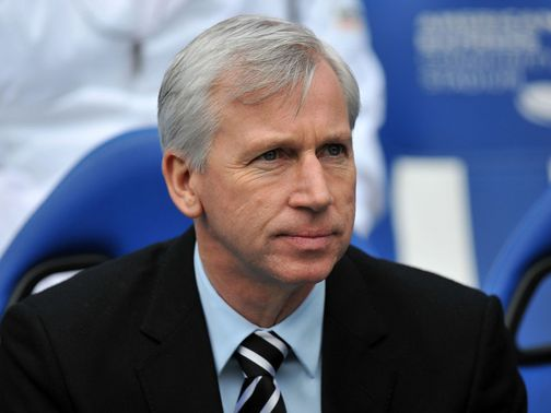 Pardew: Looking to kickstart Newcastle's season