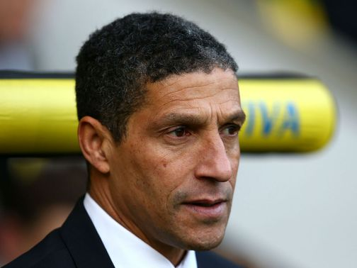 Hughton is still looking to bring a newstriker in