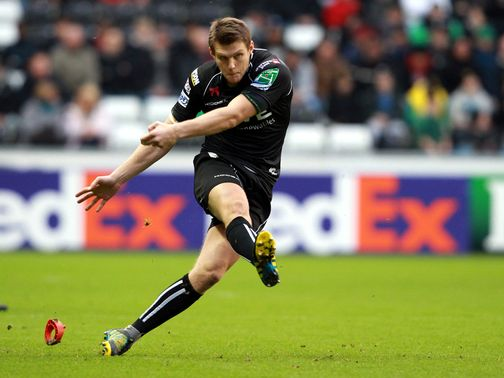 Dan Biggar: Scored all his side's points