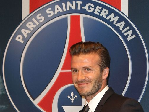 David Beckham: Made PSG move
