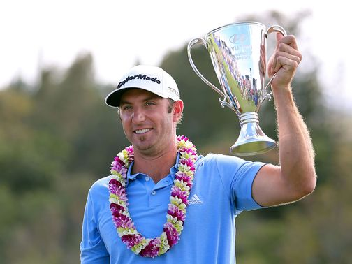 Dustin Johnson: Won the Hyundai Tournament of Champions