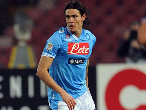 Edinson Cavani: Was linked with Arsenal