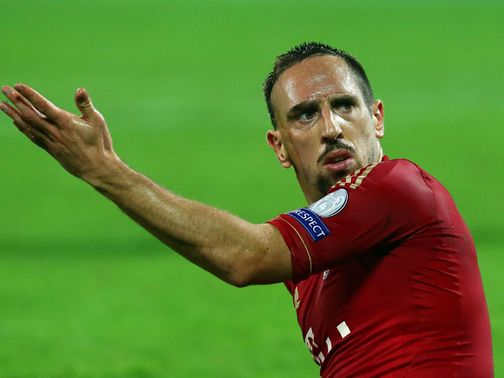 Franck Ribery: Sidelined with ankle injury