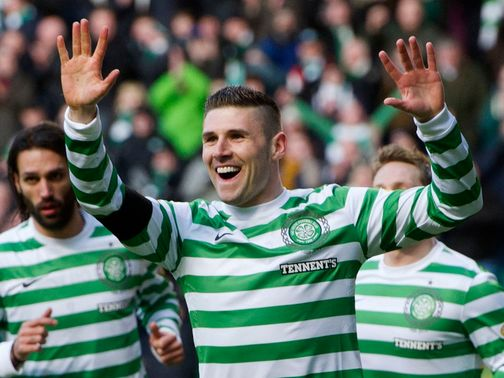 Gary Hooper: Set to stay at Parkhead
