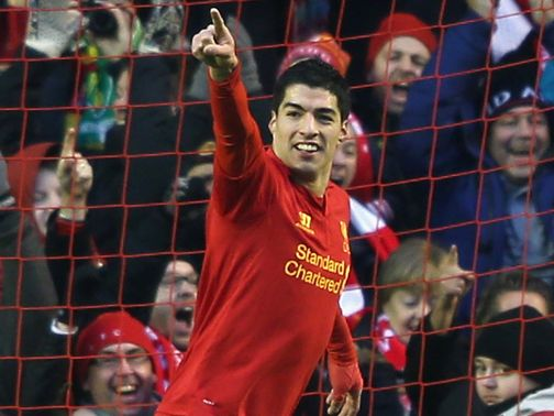 Luis Suarez: Backed by team-mate Lucas to win PFA award